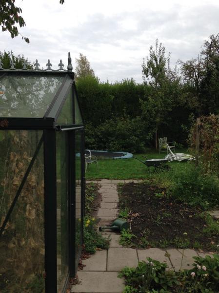 Tuinrenovatie, huidige situatie